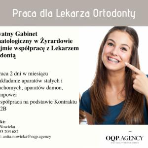 Szukam Lekarza Ortodontę