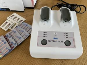 Gutaperka Dentjoy FreeFill 2020 r, piecyk GuttaFusion Oven VDW 2020r.